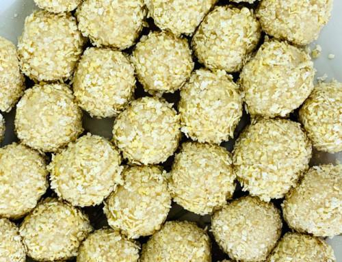 Rezept vegan und süß – Cashew-Ingwer-Balls