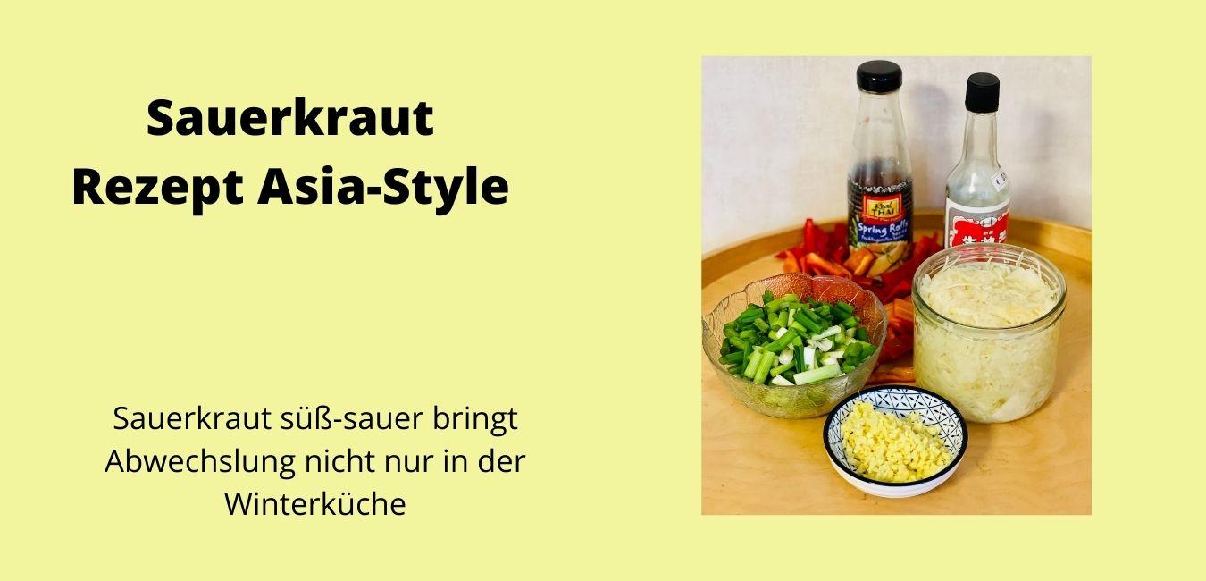 rezept vegan sauerkraut